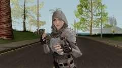 PUBGSkin 4 Skin Female ByLucienGTA for GTA San Andreas