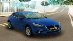 Mazda 3 Blue for GTA San Andreas