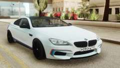 BMW M6 Coupe White for GTA San Andreas