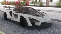 McLaren Senna 2019 Carbon White for GTA San Andreas