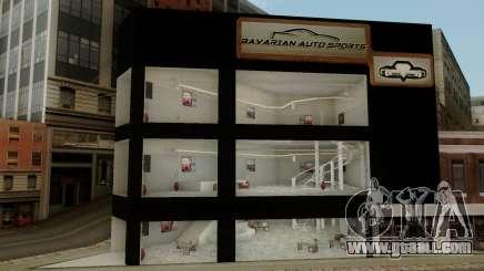 New Luxury Car Showroom for GTA San Andreas