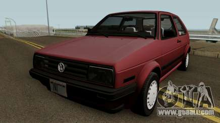 Volkswagen Golf Mk2 (US-Spec) for GTA San Andreas