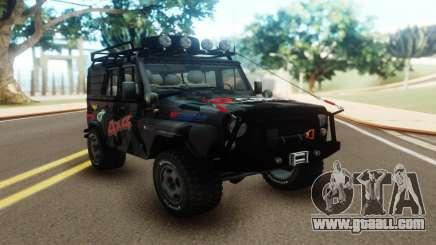 UAZ Hunter Offroad for GTA San Andreas