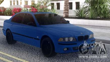 BMW M5 E39 Blue Sedan for GTA San Andreas