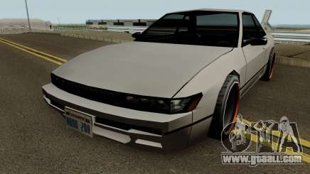 Nissan Silvia S13 For Low PC for GTA San Andreas