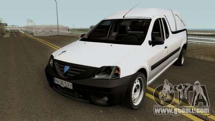 Dacia Logan Pickup (Pompe Funebre) 2008 for GTA San Andreas