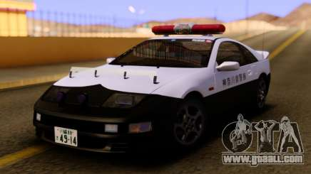 Nissan Fairlady Z32 Japanese Police for GTA San Andreas