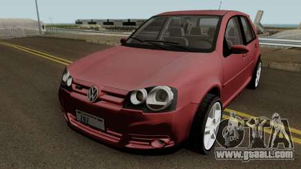 Volkswagen Golf GTI 2008 HQ for GTA San Andreas