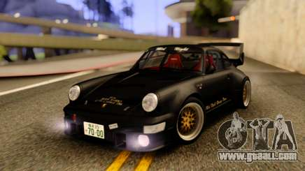Porsche 964 Mid Night for GTA San Andreas