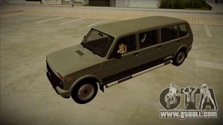 Lada 4x4 Urban 7-doors for GTA San Andreas