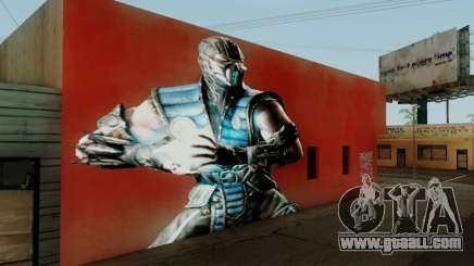 Sub Zero Mural for GTA San Andreas