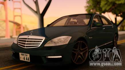 Mercedes-Benz S65 AMG Japanese HQ for GTA San Andreas