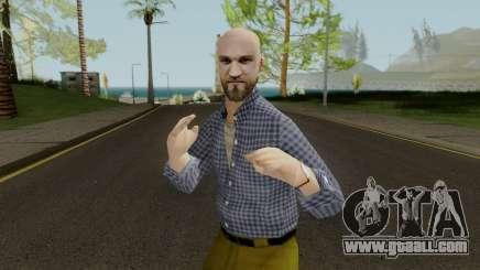 Bald Head Male for GTA San Andreas