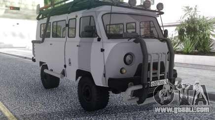 UAZ the UAZ (UAZ 452) for GTA San Andreas