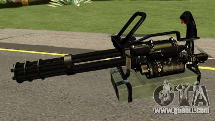 Minigun HQ (With HD Original Icon) for GTA San Andreas