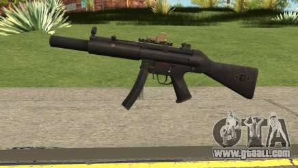 Silenced MP5 with Eotech for GTA San Andreas
