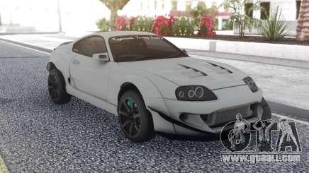 Toyota Supra White for GTA San Andreas