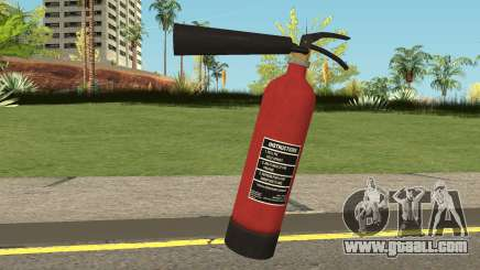 Fire Extinguisher HQ (With HD Original Icon) for GTA San Andreas