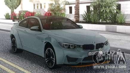 BMW M4 Grey for GTA San Andreas