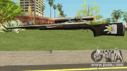 Sniper Rifle DrugWar for GTA San Andreas