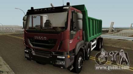 Iveco Trakker Dumper 8x4 for GTA San Andreas