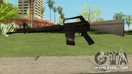 M4 Gucci for GTA San Andreas