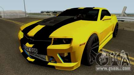 Mygarage Chevrolet Camaro SS Construction (Izmir auto) for GTA San Andreas