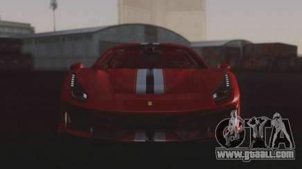 2019 Ferrari 488 Pista for GTA San Andreas