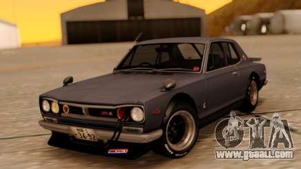 Nissan Skyline 2000GT RHD for GTA San Andreas