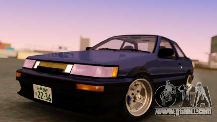Toyota Corolla AE86 LevinCP for GTA San Andreas