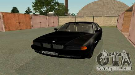 BMW 730i E38 from the movie Boomer for GTA San Andreas