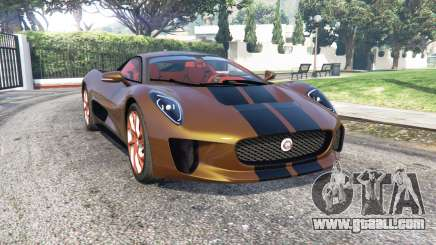 Jaguar C-X75 2015 [add-on] for GTA 5