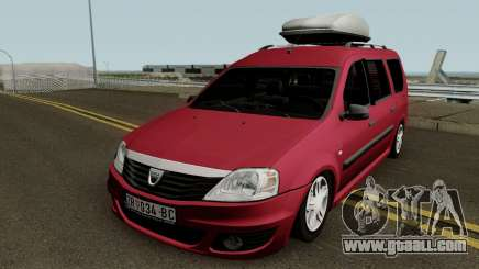 Dacia Logan MCV Facelift 2010 for GTA San Andreas