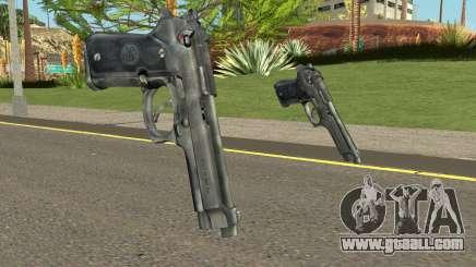 Colt 45 HQ v2.0 (With HD Original Icon) for GTA San Andreas