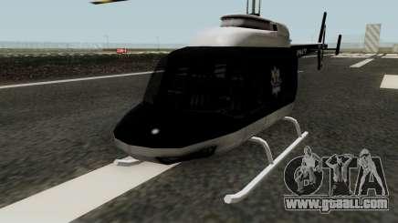 Helikopter Polskiej Policji for GTA San Andreas