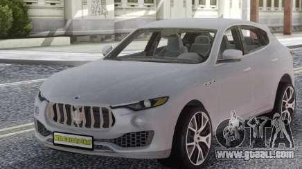 Maserati Levante White for GTA San Andreas