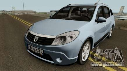 Dacia Sandero Grandtour for GTA San Andreas