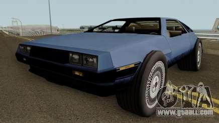 GTA SA Deluxo (Modified Delorean DMC 12) for GTA San Andreas