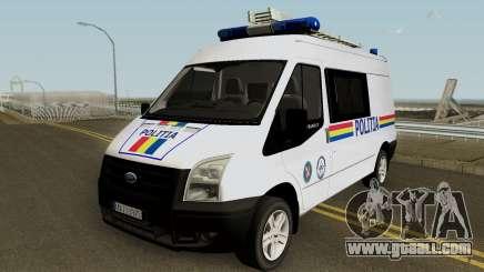 Ford Transit - Politia Romana for GTA San Andreas
