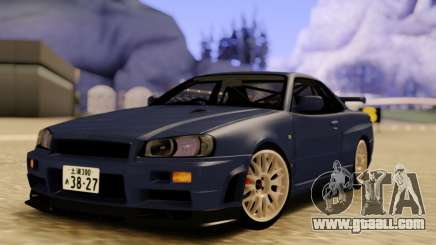 Nissan Skyline R34 GODZILLA for GTA San Andreas