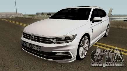 Volkswagen Passat Variant B8 2016 for GTA San Andreas