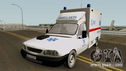 Dacia Papuc Ambulanta 2002 for GTA San Andreas