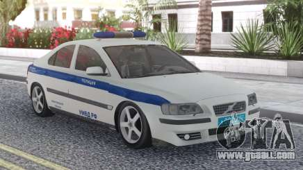Volvo S60 Police for GTA San Andreas