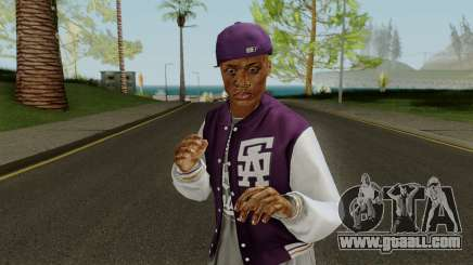 Ballas Member 1 GTA V for GTA San Andreas