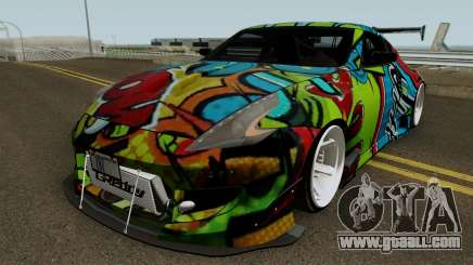 Nissan 370Z WideBody (Z34) 2013 for GTA San Andreas