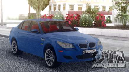 BMW M5 E60 Blue Line for GTA San Andreas