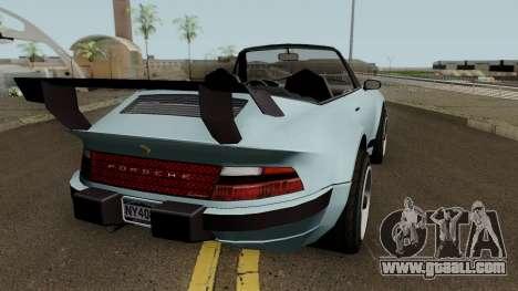 Porsche 911 Carrera Turbo (Comet Style) v1.1980 for GTA San Andreas right view