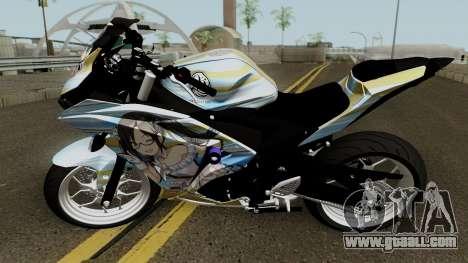 Yamaha R25 Mitsumine Itasha for GTA San Andreas