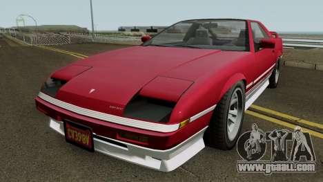 Imponte Ruiner (r2) GTA V IVF for GTA San Andreas