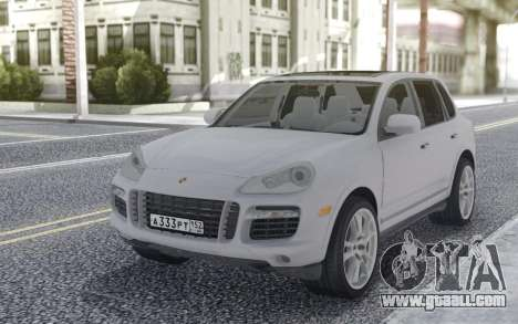 Porsche Cayenne 2008 Stock for GTA San Andreas